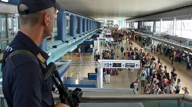 polizia di stato aeroporto fiumicino