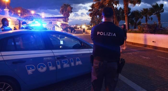 polizia lungomare estate