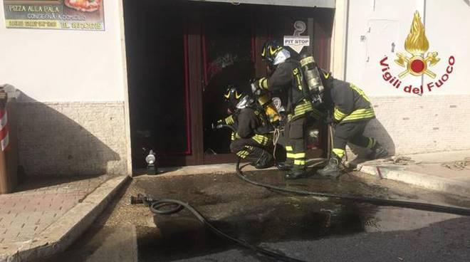 pompieri vigili del fuoco civitavecchia