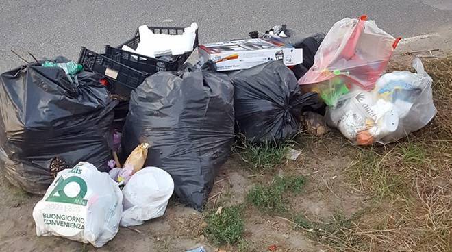 raccolta rifiuti focene