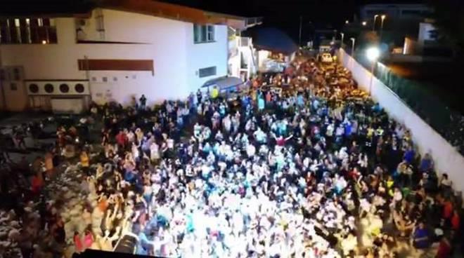 schiuma party aranova 2019