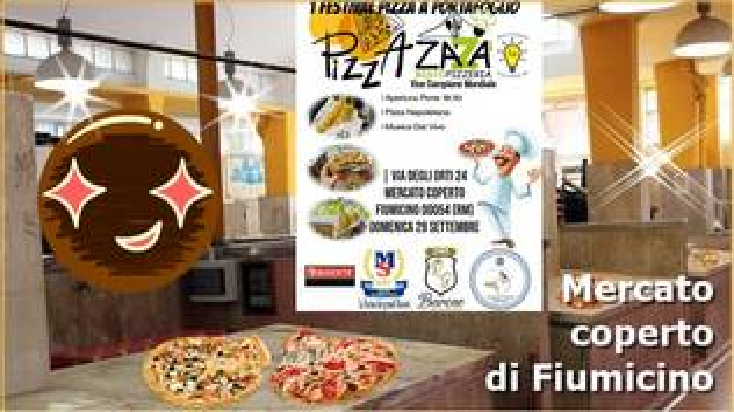 festa pizza al portafoglio Fiumicino
