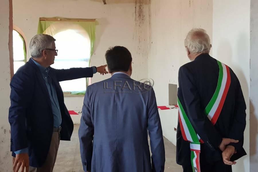 inaugurazione cantiere casa della salute palidoro