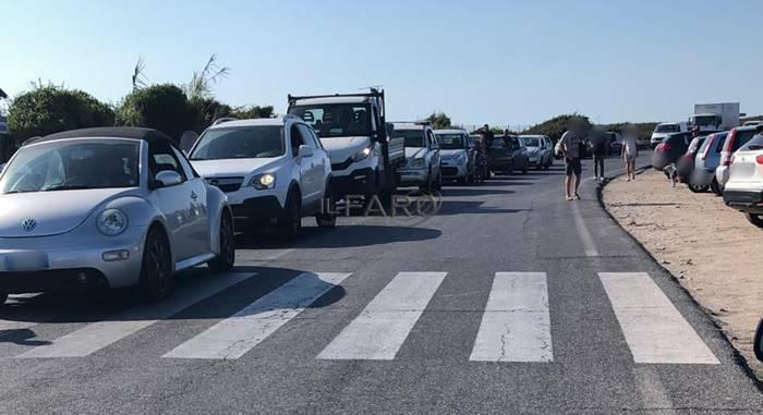 incidente litoranea traffico