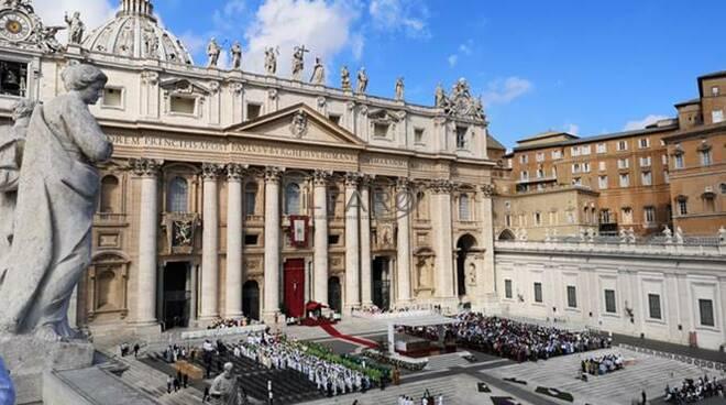 messa papa vaticano