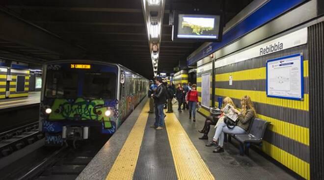 metro linea b roma