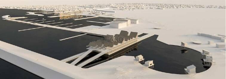 Nuovo porto turistico di Fiumicino
