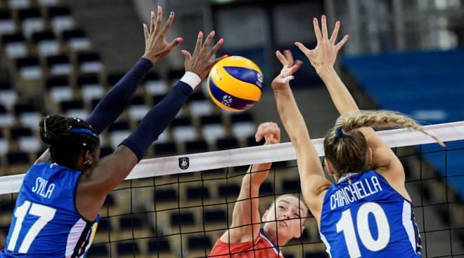 L'Italia doma la Russia: è semifinale