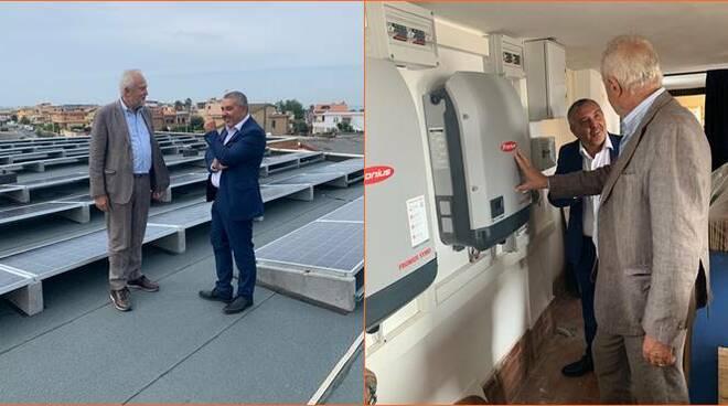 pannelli solari segre fiumicino