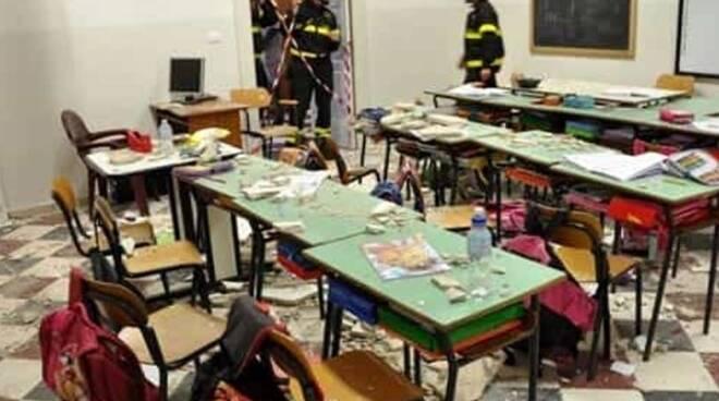 scuola a rischio sismico