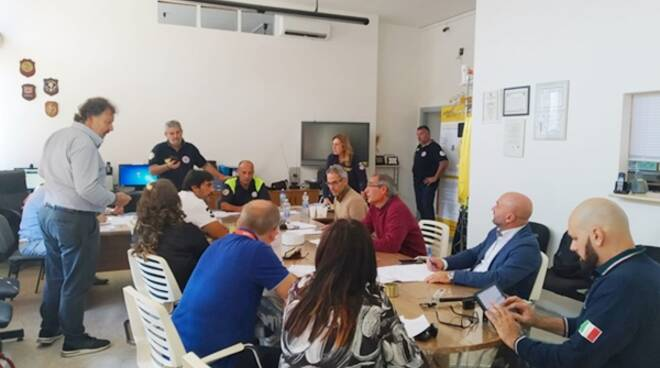 Allarme maremoto, l'esercitazione della Protezione civile di Minturno