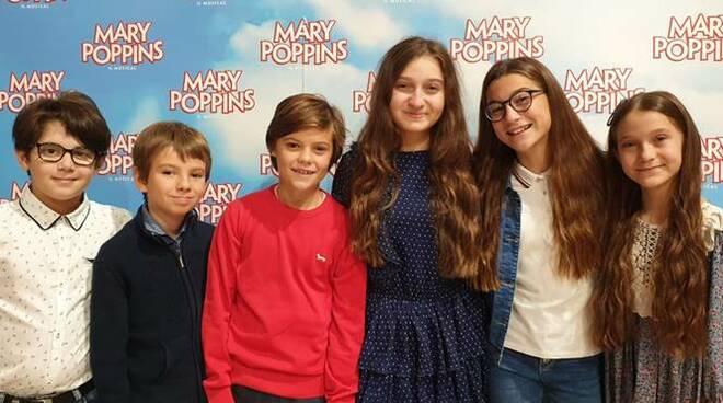 allievi MTDA cast mary poppins