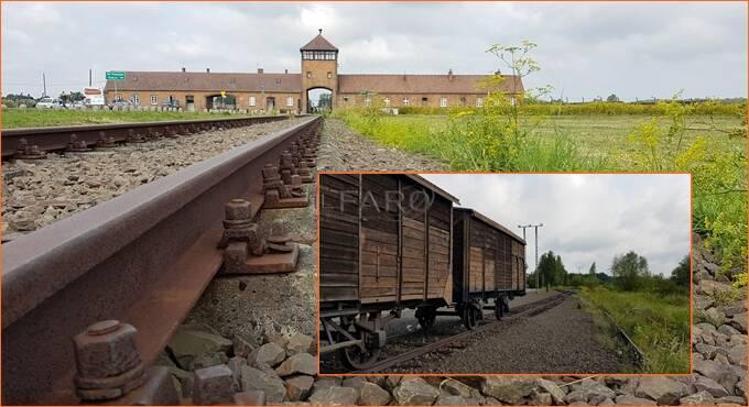 Auschwitz treno