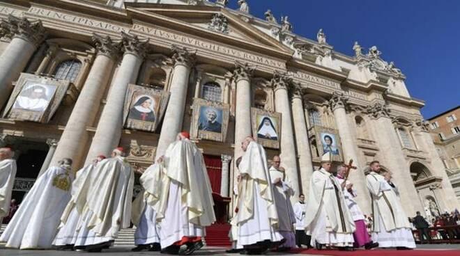 canonizzazioni papa