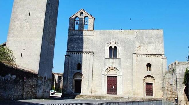 chiesa santa maria in castello tarquinia