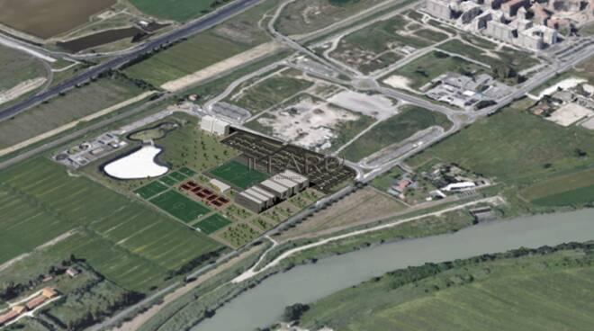 fiumicino progetto città dello sport a parco leonardo