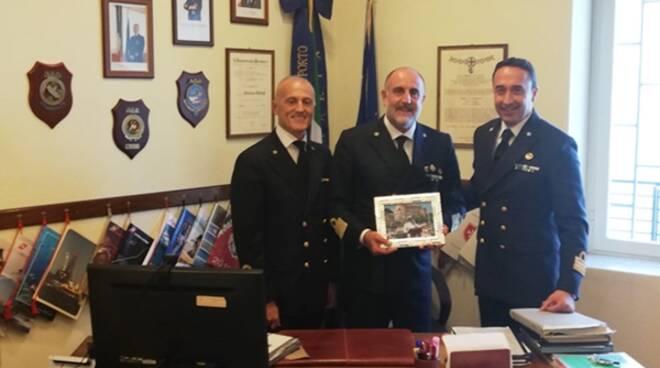 Il direttore marittimo del Lazio e la visita nel Golfo di Gaeta