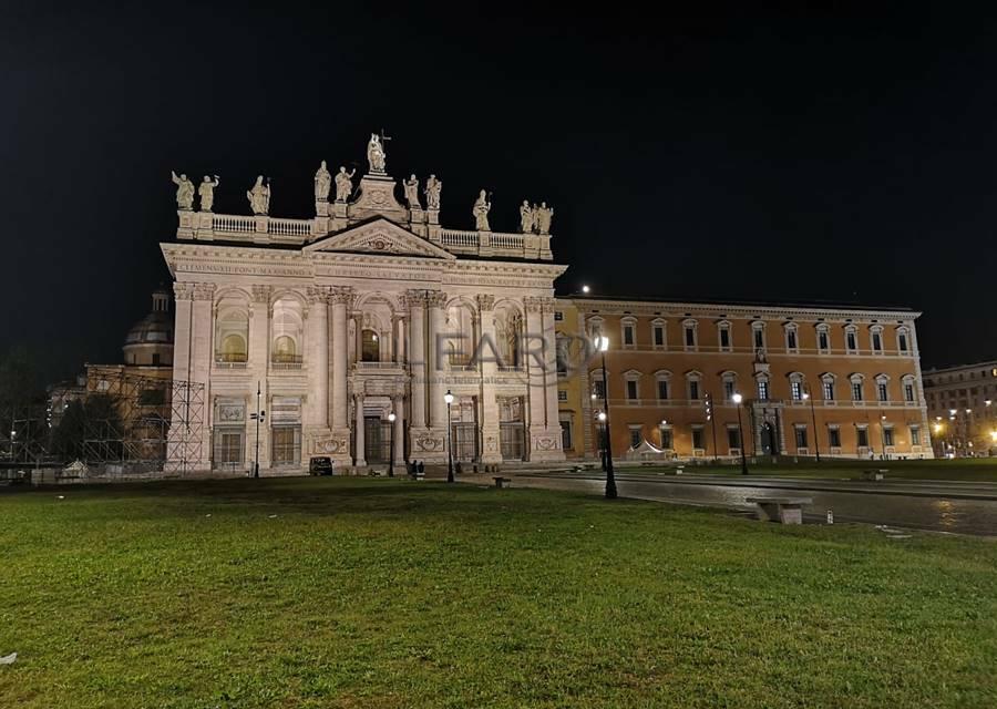 illuminazione cattedrale di roma san giovanni in laterano