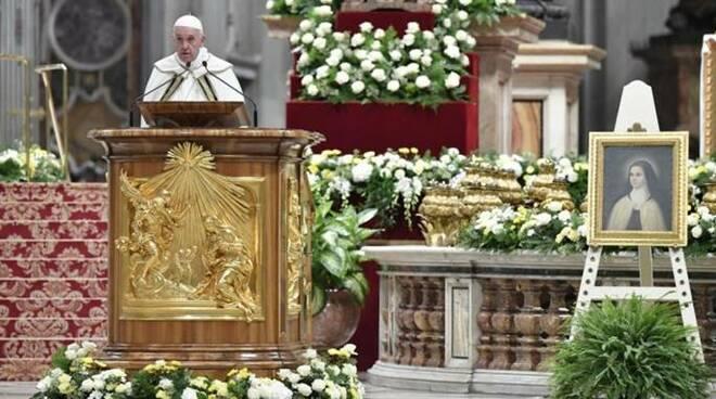 papa francesco vespri missione