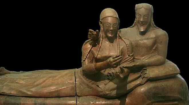 sarcofago degli sposi