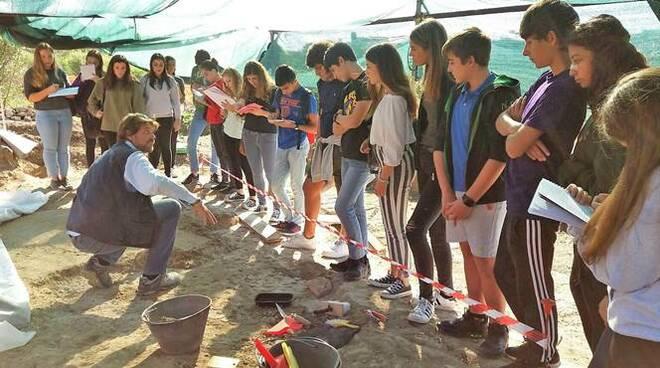 studenti santa marinella a castrum novum