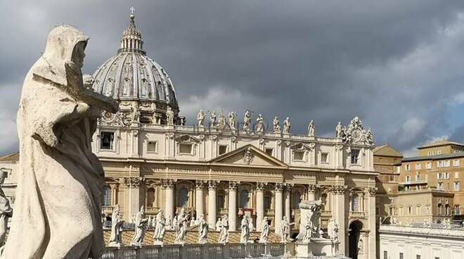 vaticano nuvole