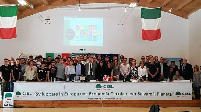 Ventotene, concluso il workshop della Cisl di Latina