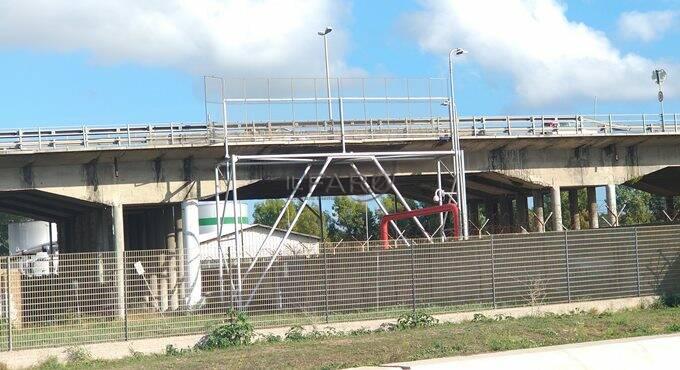 viadotto di via dell'aeroporto a Fiumicino