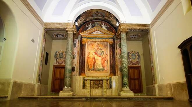 chiesa castello santa severa