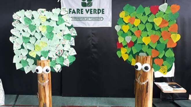 Festa dell'albero, Fare verde Formia va nelle scuole e dona alberi alla sua città