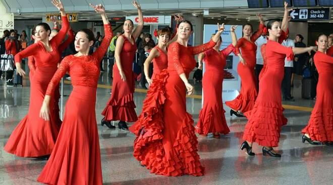 flash mob aeroporto