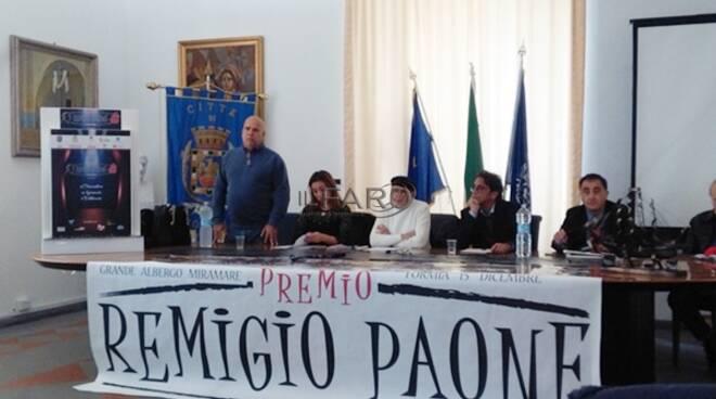 """Il premio Remigio Paone cambia volto, Cerrito: """"Formia assurgerà ora a livello nazionale"""""""