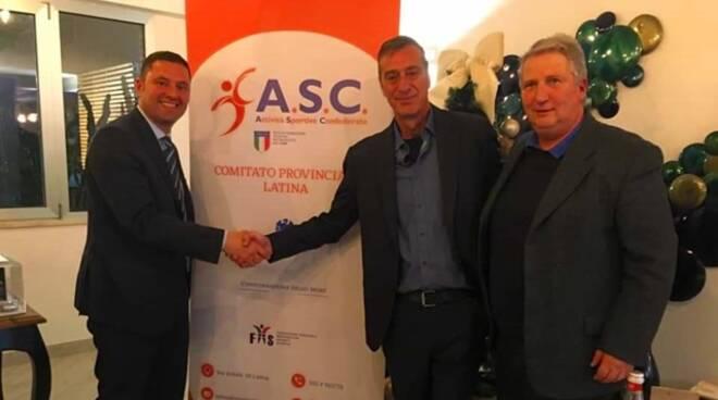 Latina, inaugurato ufficialmente il point Asc sport