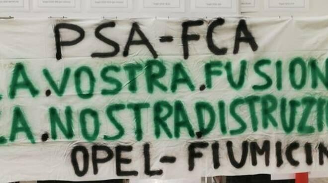 protesta opel fiumicino