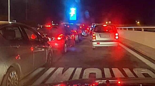 traffico viadotto