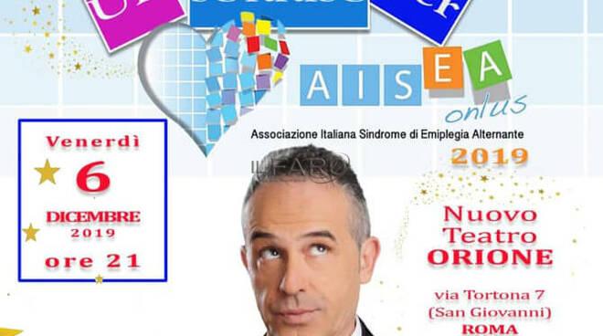 Un Sorriso per AISEA 2019 - Spettacolo di beneficenza con il Comico Antonio Giuliani