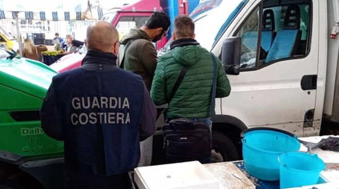 """Conclusa l'operazione """"Mercato globale"""", sequestrato circa un quintale di prodotti ittici"""
