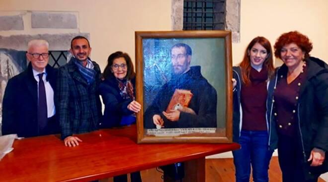 Fondi, restaurati i quadri dell'ex convento di San Domenico
