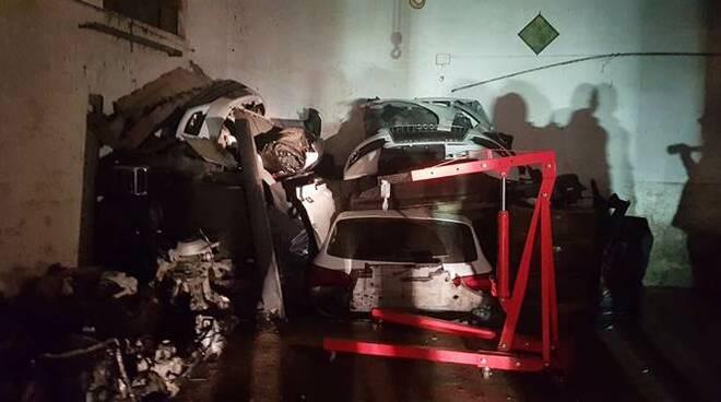furto di auto e trattori a le ferriere latina