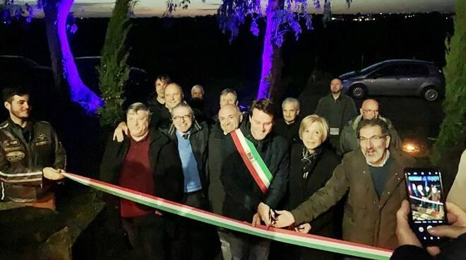 Inaugurazione I due LIocorni