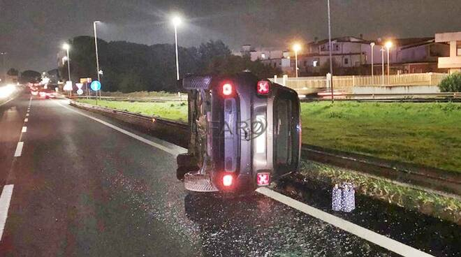 incidente sulla Pontina