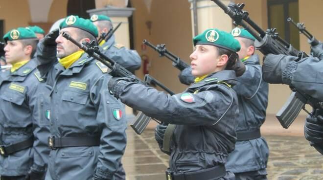 Minturno, è Ilaria Arnone il primo basco verde donna d'Italia