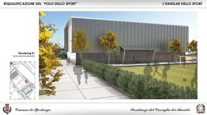 Palazzetto dello sport a Sperlonga verso la realizzazione: approvato il progetto definitivo