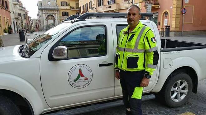 Renato Bisegni protezione civile Cerveteri