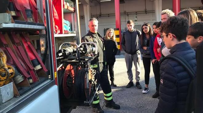vigili del fuoco aeroporto di Fiumicino