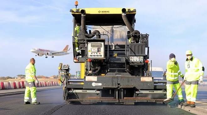 asfalto grafene aeroporto