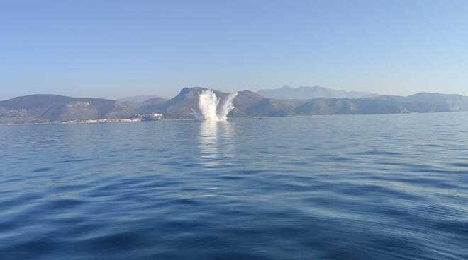 Esplosione a Sperlonga? Sono le 15 mine anticarro trovate le mare del Borgo