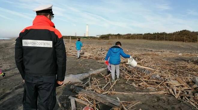 guardia costiera montalto pulizia spiaggia