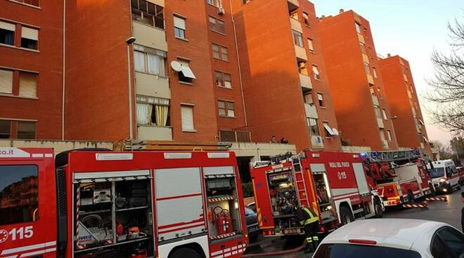 incendio case ater latina