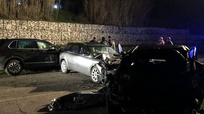 Incidente sulla Formia- Cassino, morta una 46enne